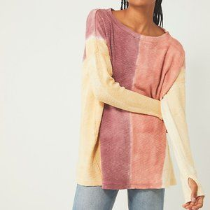 Free People Star Anise Combo Shirt Extra Small